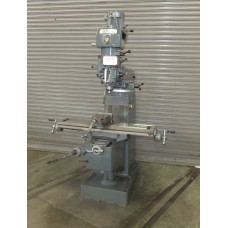 """LAGUN HEAVY DUTY VERTICAL MILLING MACHINE MODEL T-1S WITH 10"""" x 44"""" TABLE 2 HP STEP PULLEY TYPE"""
