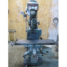 """EX-CELL-O VERTICAL MILLING MACHINE MODEL602 VARIABLE SPEED IMMACULATE CONDITON 9"""" x 42"""" TABLE"""
