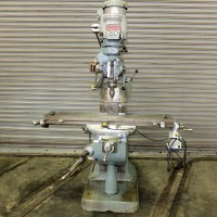 """BRIDGEPORT 2 HP VARIABLE SPEED MILLING MACHINE WITH 9"""" x 48"""" TABLE, LONGITUDINAL POWER FEED AND CHROME WAYS"""
