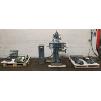 DECKEL FP-1 HORIZONTAL AND VERTICAL MILLING MACHINE WITH LARGE ASSORTMENT OF ATTACHMENTS