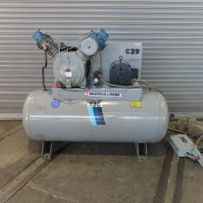 INGERSOLL RAND 10 HP AIR COMPRESSOR TWO STAGE MODEL T-30