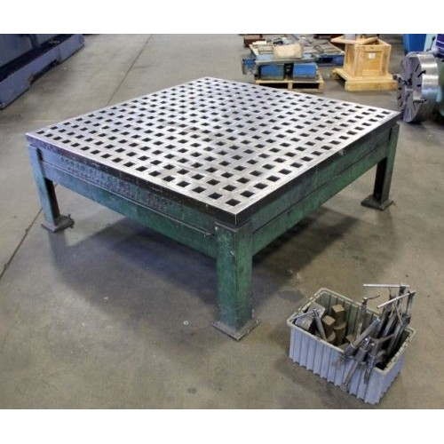 Acorn Welding Table 5 X 5 Welding Platen With Factory Stand