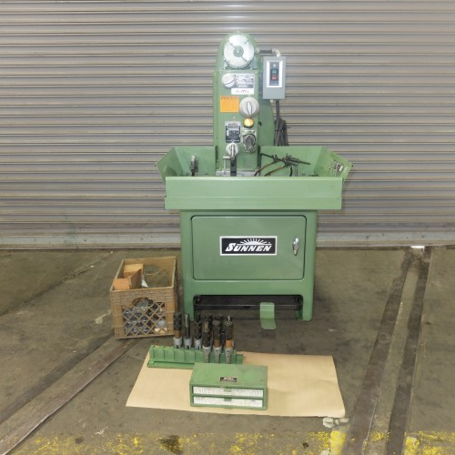 SUNNEN MBB-1660 HORIZONTAL HONING MACHINE WITH TOOLING NEW IN 1991