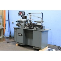 HARDINGE HLVH-EM PRECISION TOOLROOM LATHE FULLY TOOLED INCH METRIC MINT CONDITION FROM LAB 1987