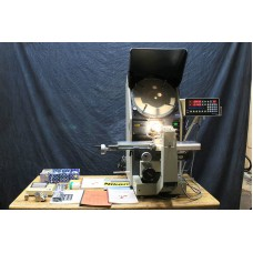 """NIKON 14"""" HIGH PRECISION HORIZONTAL PROJECTION OPTICAL COMPARATOR MFG. IN JAPAN LARGE ASSORTMENT OF LENSES MODEL H-14B"""