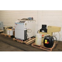 INGERSOLL RAND 20 HP ROTARY SCREW TYPE AIR COMPRESSOR MODEL SSR-EP20SE WITH AIR DRYER