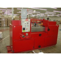 HOHENFORST MACHINERY CO. DIE CUT SPLITTING SKIVING MACHINE MODEL FSM FOR FOAM PAD INSERTS FOR SHOES NEW IN 2018 WITH VERY LOW HOURS