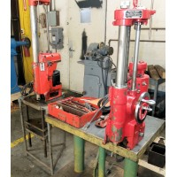 """KWIK WAY MODEL FX SMALL ENGINE AUTOMOTIVE BORING BAR AND STORM VULCAN MODEL BCTV SMALL ENGINE AUTOMOTIVE BORING BAR 1.75"""" CAPACITY TO 5.7"""" CAPACITY WITH TOOLING AND STAND"""