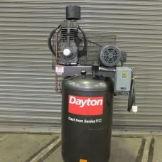 DAYTON 5 HP 2 STAGE VERTICAL AIR COMPRESSOR