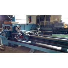 """LODGE & SHIPLEY 22"""" x 14' POWER TURN LATHE FULLY TOOLED 3-JAW CHUCK 4-JAW CHUCK TWO STEADY RESTS"""