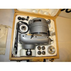 VOLSTRO ROTARY MILLING HEAD WITH R8 ADAPTER