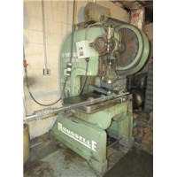 "ROUSELLE MODEL 3F AIR CLUTCH O.B.I. POWER PRESS OPEN BACK INCLINEABLE 25 TON 2"" STROKE USA"