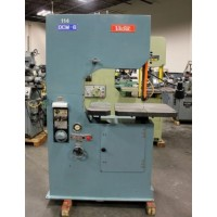 """VICTOR DCM-6 VERTICAL BAND SAW WITH BLADE WELDER GRINDER 24"""" THROAT EXCELLENT CONDITION"""
