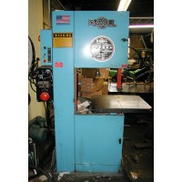 "DO ALL 2013-V VERTICAL BAND SAW 20"" CAPACITY WITH BLADE WELDER GRINDER USA 1994"