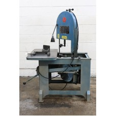 ROLL-IN VERTICAL BAND SAW MODEL EF-1459 8.25'' Width 9.5'' Height Roll-In , 3/4 HP Single Phase, 3/4'' blade, Gravity Feed USA