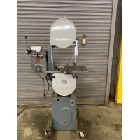 "ROCKWELL 14"" VERTICAL BAND SAW MODEL 28-300 WOOD AND METAL CUTTING WITH BLADE WELDER USA"