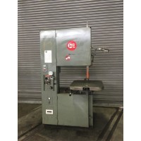 "GROB 24"" VERTICAL BAND SAW MODEL 4V-24 VARIABLE SPEED WITH POWER FEED TABLE AND BLADE WELDER USA"