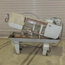 """DO ALL 9"""" x 12"""" HORIZONTAL BAND SAW MODEL C-4 STEP PULLEY TYPE 3/4 HP WITH COOLANT"""