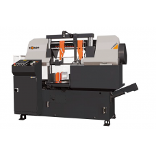 "COSEN C320NC FULLY PROGRAMMABLE DUAL COLUMN AUTOMATIC HORIZONTAL BAND SAW 5 HP 1 1/2"" WIDE BLADE 12.6"" ROUND CAPACITY"