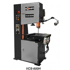 "COSEN VCS-600H 24"" VERTICAL HYDRAULIC CONTOUR BAND SAW WITH HYDRAULIC TABLE FEED"