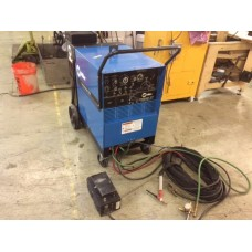 MILLER SYNCHROWAVE 250 Constant Current AC/DC ARC Welding Power Source with Miller Watermate 1A Cooling System