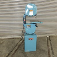 """JET 14"""" VERTICAL BAND SAW MODEL JWBS-14CS SINGLE PHASE WOODWORKING LOW HOURS MFG. IN TAIWAN"""